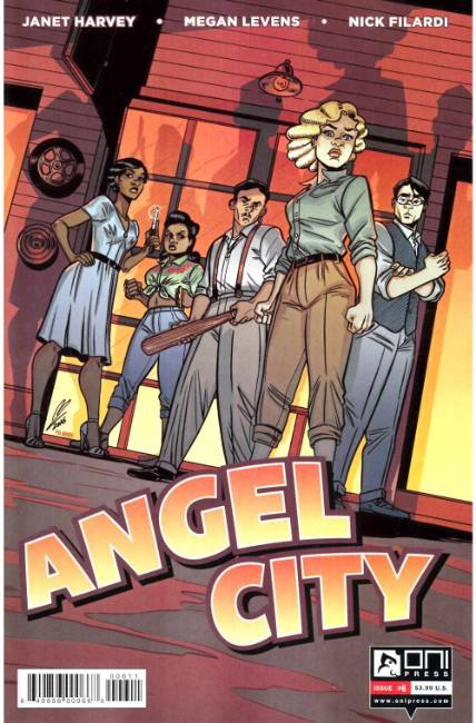 Angel City #6 [Oni Press Comic]