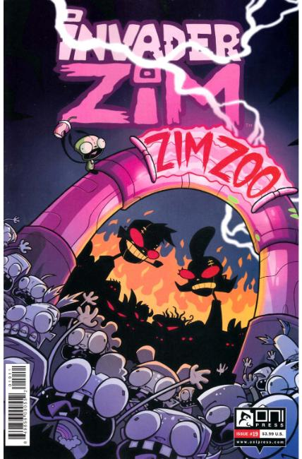Invader Zim #19 [Oni Press Comic] THUMBNAIL