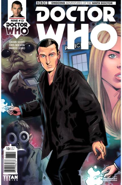 Doctor Who 9th Doctor #13 Cover A [Titan Comic] THUMBNAIL