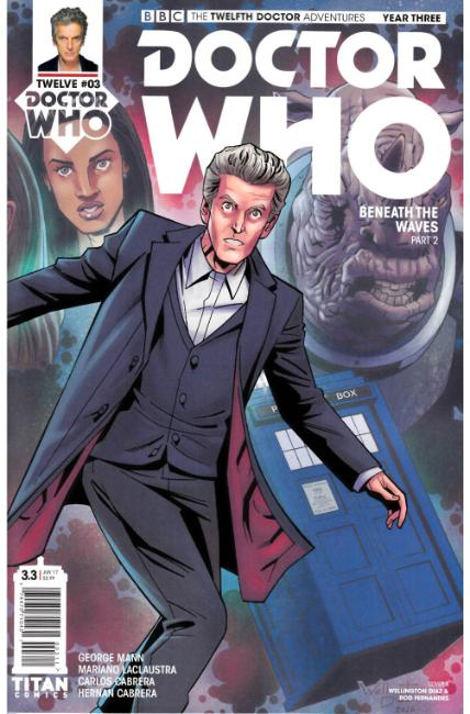 Doctor Who 12th Doctor Year Three #3 Cover A [Titan Comic] THUMBNAIL