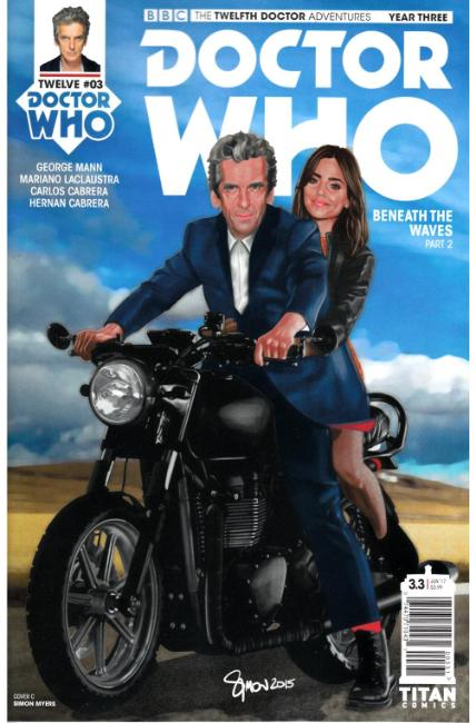 Doctor Who 12th Doctor Year Three #3 Cover C [Titan Comic] THUMBNAIL