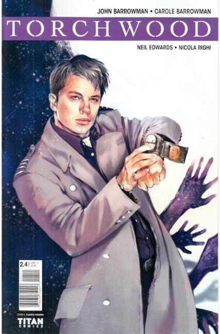 Torchwood #4 Cover A [Titan Comic]