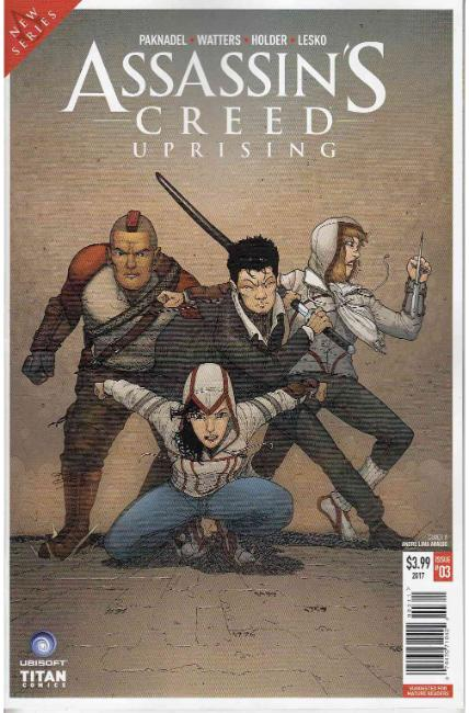 Assassins Creed Uprising #3 Cover A [Titan Comic]_THUMBNAIL
