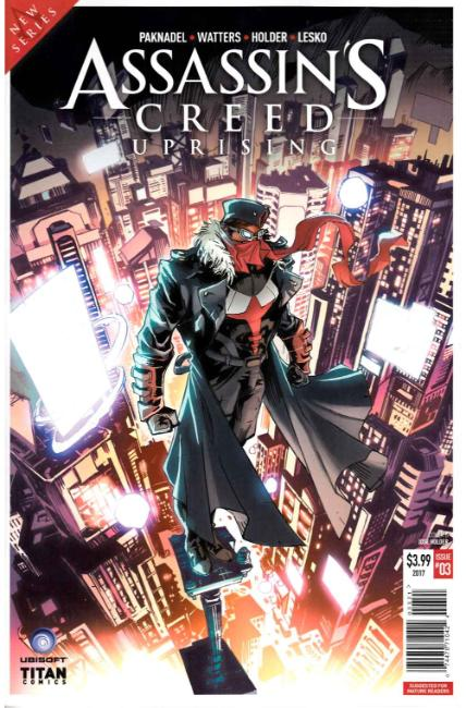 Assassins Creed Uprising #3 Cover B [Titan Comic] THUMBNAIL