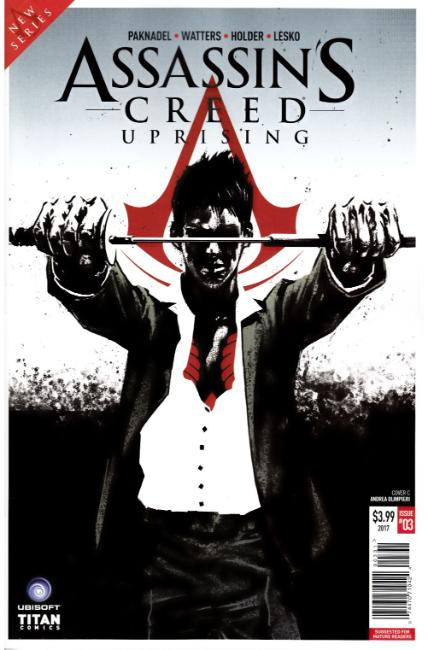Assassins Creed Uprising #3 Cover C [Titan Comic] THUMBNAIL