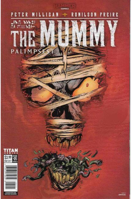 The Mummy #5 Cover A [Titan Comic] THUMBNAIL