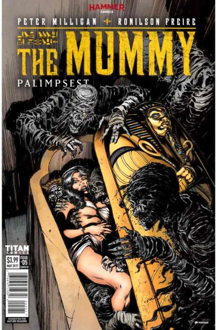 The Mummy #5 Cover B [Titan Comic] THUMBNAIL