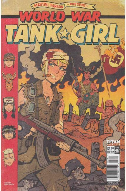 Tank Girl World War Tank Girl #2 Cover A [Titan Comic] THUMBNAIL
