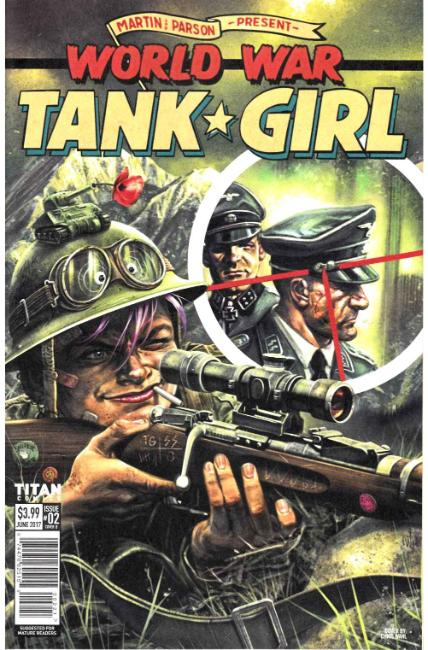 Tank Girl World War Tank Girl #2 Cover B [Titan Comic]_THUMBNAIL