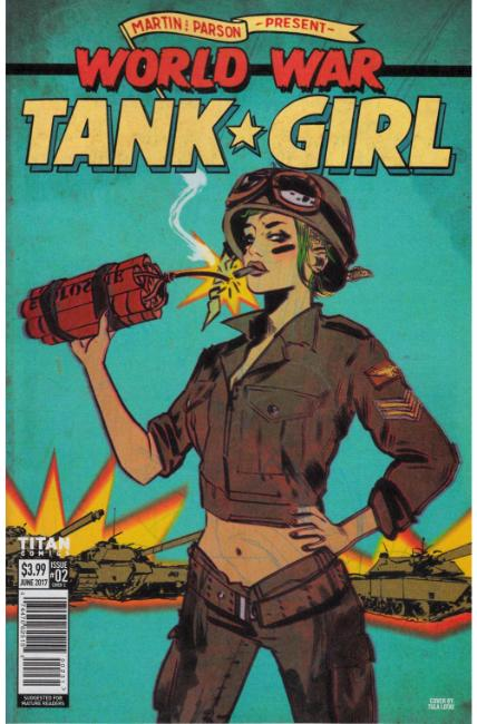 Tank Girl World War Tank Girl #2 Cover C [Titan Comic]_THUMBNAIL