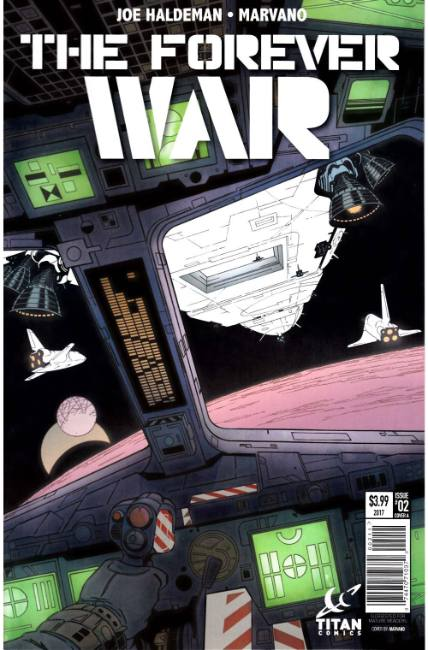 Forever War #2 Cover A [Titan Comic] THUMBNAIL