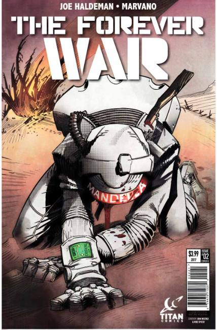 Forever War #2 Cover B [Titan Comic] THUMBNAIL