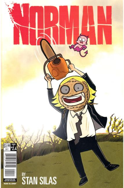 Norman the First Slash #4 Cover A [Titan Comic] THUMBNAIL