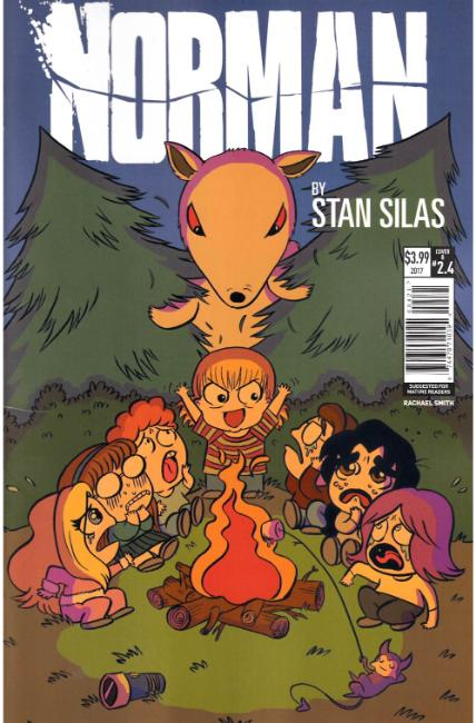 Norman the First Slash #4 Cover B [Titan Comic] THUMBNAIL