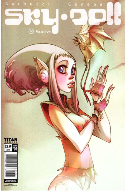 Sky Doll Sudra #1 Cover B [Titan Comic] THUMBNAIL