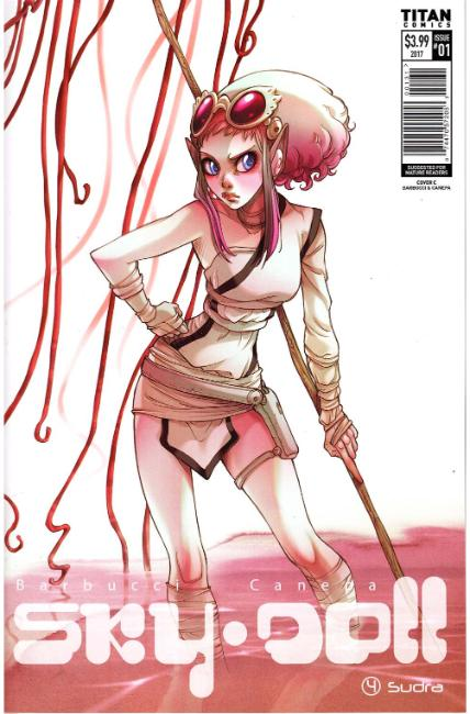Sky Doll Sudra #1 Cover C [Titan Comic] THUMBNAIL