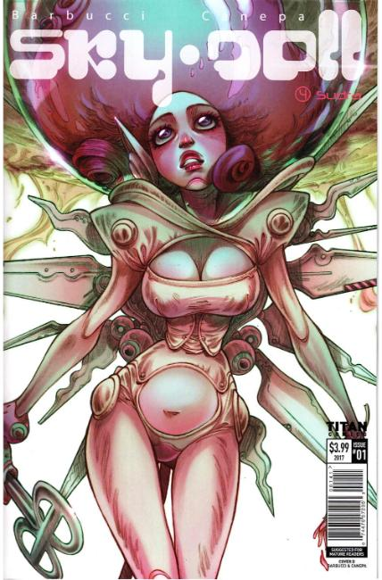 Sky Doll Sudra #1 Cover D [Titan Comic] THUMBNAIL