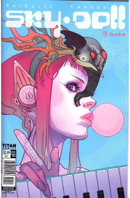 Sky Doll Sudra #1 Cover E [Titan Comic] THUMBNAIL