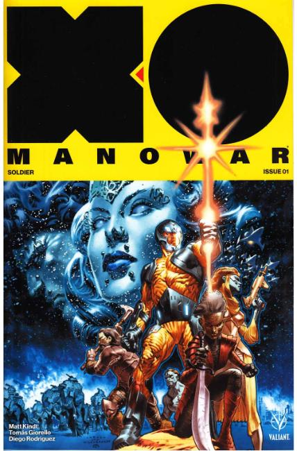 X-O Manowar #1 Cover A [Valiant Comic] LARGE