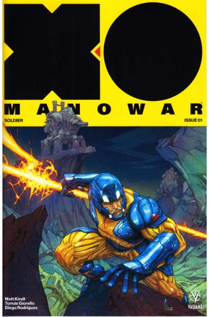 X-O Manowar #1 Cover B [Valiant Comic] THUMBNAIL