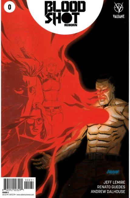 Bloodshot Reborn #0 Cover C [Valiant Comic] THUMBNAIL