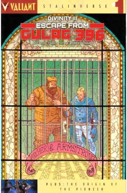 Divinity III Escape from Gulag 396 #1 Cover C [Valiant Comic] THUMBNAIL