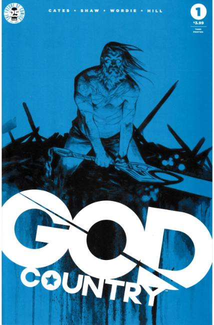 God Country #1 Third Printing Near Mint Minus (9.2) [Image Comic] LARGE
