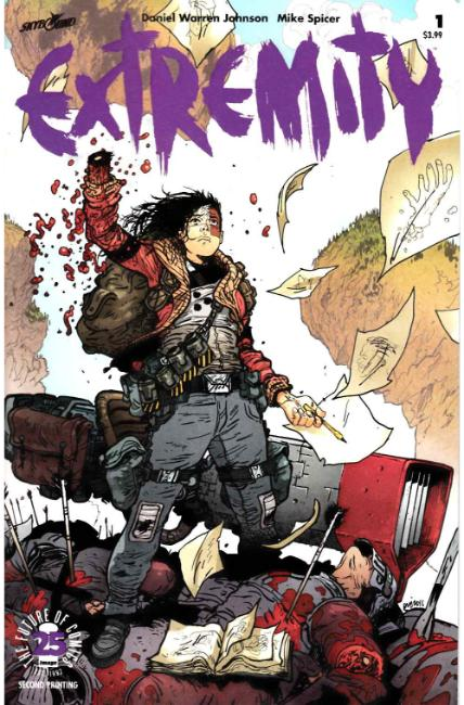 Extremity #1 Second Printing [Image Comic] LARGE