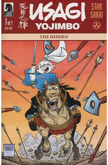Usagi Yojimbo #1 The Hidden #1 [Dark Horse Comic] THUMBNAIL