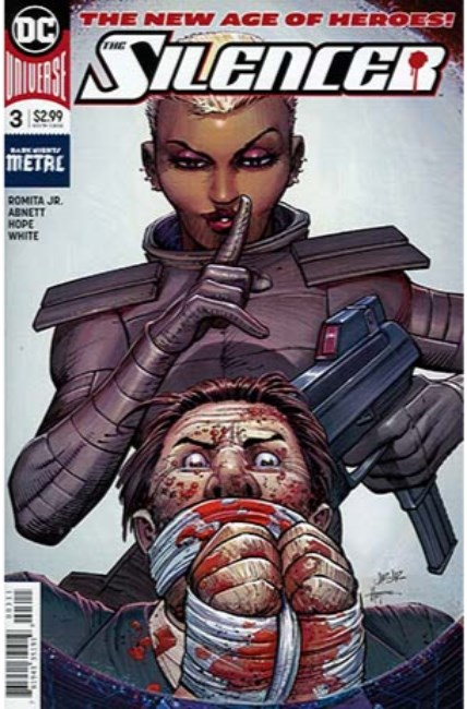 Silencer #3 [DC Comic] LARGE