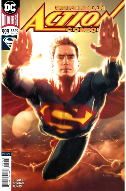 Action Comics #999 Andrews Variant Cover [DC Comic] THUMBNAIL