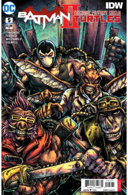 Batman Teenage Mutant Ninja Turtles II #5 Eastman Variant Cover [DC Comic] THUMBNAIL
