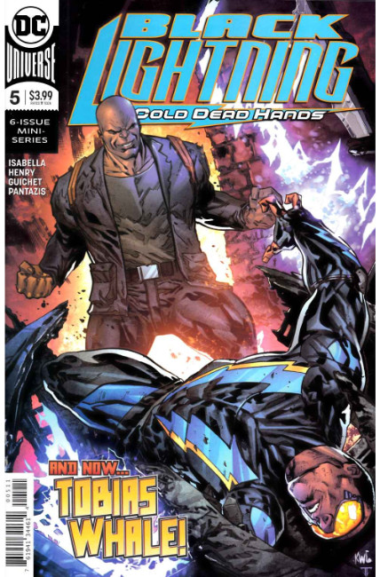 Black Lightning Cold Dead Hands #5 [DC Comic] THUMBNAIL