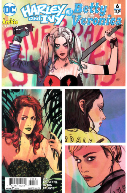 Harley & Ivy Meet Betty & Veronica #6 [DC Comic] THUMBNAIL