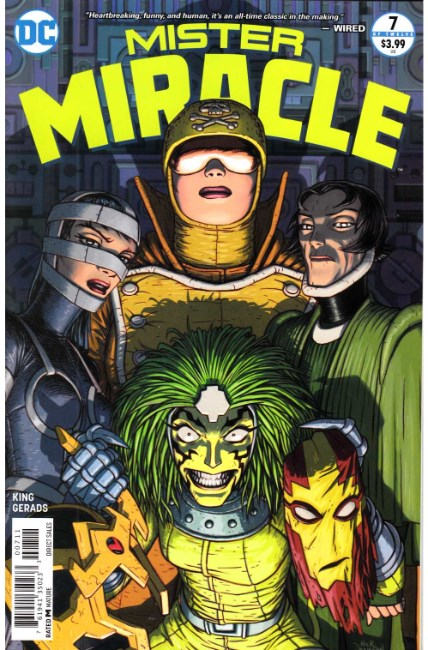 Mister Miracle #7 [DC Comic] LARGE