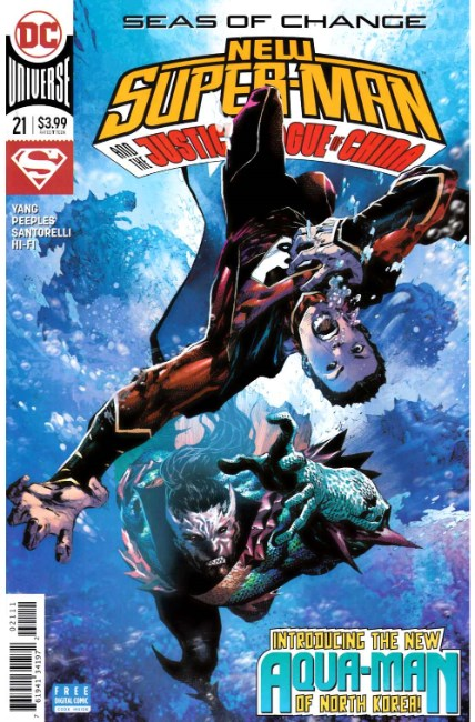 New Super Man & The Justice League of China #21 [DC Comic]
