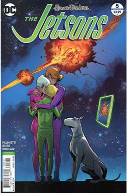 Jetsons #5 Greene Variant Cover [DC Comic] THUMBNAIL