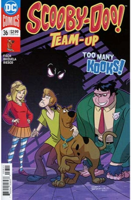 Scooby Doo Team Up #36 [DC Comic] LARGE