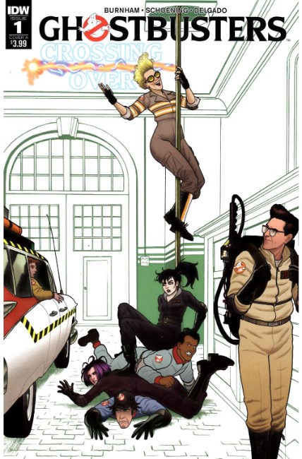 Ghostbusters Crossing Over #1 Cover A [IDW Comic] THUMBNAIL