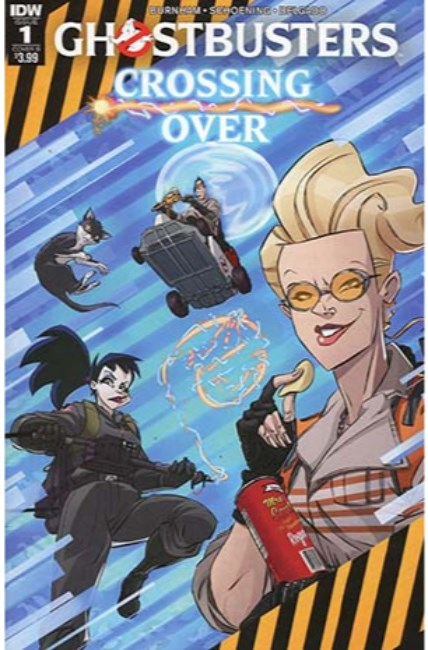 Ghostbusters Crossing Over #1 Cover B [IDW Comic] LARGE