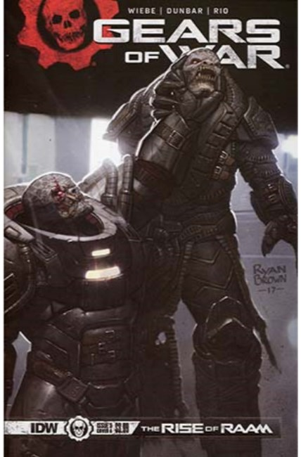 Gears of War Rise of Raam #3 Cover A [IDW Comic]