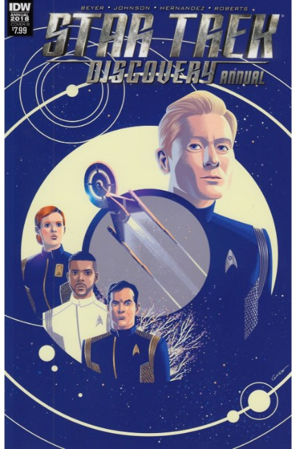 Star Trek Discovery Annual 2018 (One Shot) Cover B [IDW Comic] THUMBNAIL