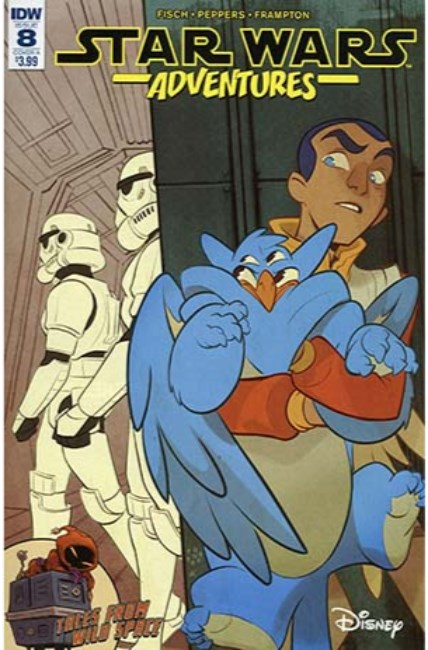 Star Wars Adventures #8 Cover A [IDW Comic] LARGE