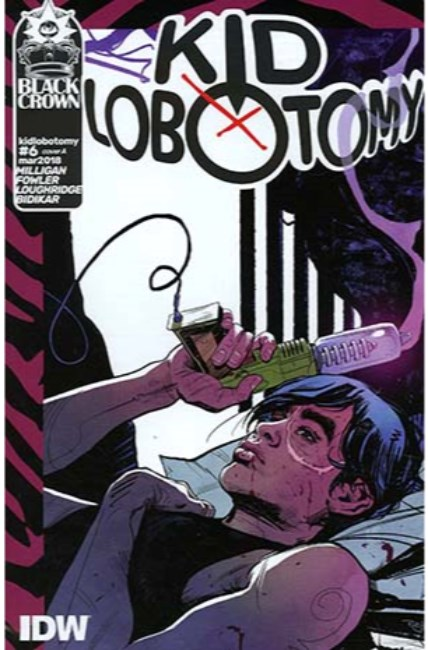 Kid Lobotomy #6 Cover A [IDW Comic]