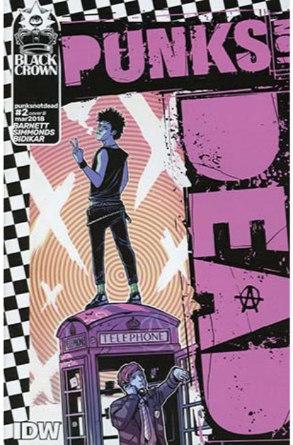 Punks Not Dead #2 Cover B [IDW Comic]