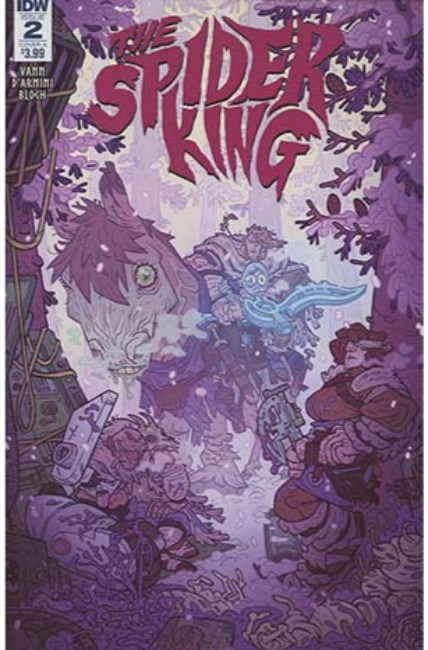 Spider King #2 Cover A [IDW Comic] THUMBNAIL