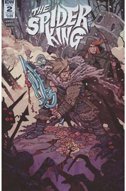 Spider King #2 Cover B [IDW Comic] THUMBNAIL