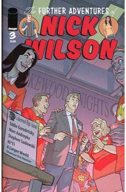 Further Adv of Nick Wilson #3 Cover A [Image Comic] THUMBNAIL