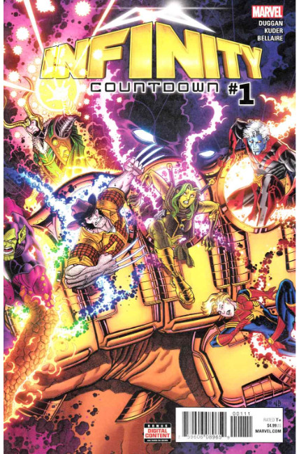 Infinity Countdown #1 [Marvel Comic] LARGE