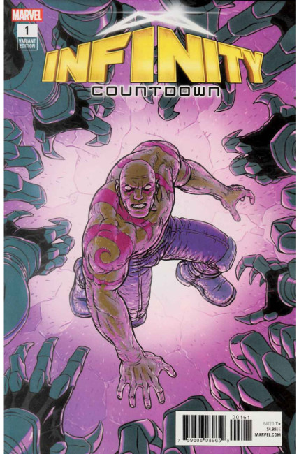 Infinity Countdown #1 Derrington Variant Cover [Marvel Comic]